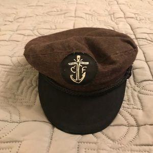 Vintage sailor hat. Really cool, Captain Fin